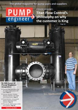 Titan Featured in Pump Engineer Magazine